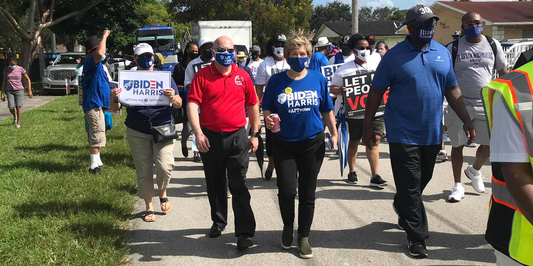 Get out the vote in Florida